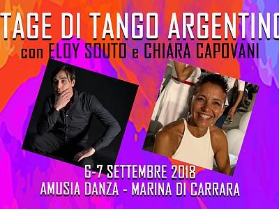 6-7 Settembre 2018: Stage con Eloy Souto e Chiara Capovani