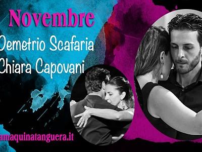 9-11 Novembre 2018: Stage con Demetrio Scafaria e Chiara Capovani